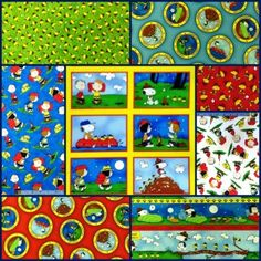 Camp Peanuts Fabric Sale - 30% Today, April 28th