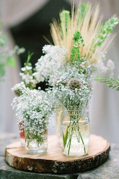 décoration de table mariage champêtre - Recherche Google