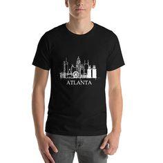 Atlanta Georgia Home State City Tees State Unique Gift Shirts