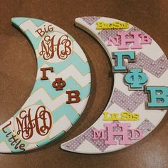 cute & crafty crescents! ☽❤☽
