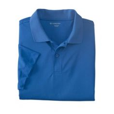 Harriton Men's Micro-Piqué Polo.  Deal of the Month for March.