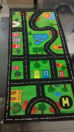 Fall Arts And Crafts, Christmas Crafts For Gifts, Kids Christmas, Kids Crafts, Car Play Mats, Transportation Activities, Cardboard Toys, Woodworking For Kids, Sewing Projects For Kids