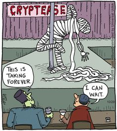 Explore funny Halloween jokes and funny webcomics of all time. Halloween time not only to dress extravagantly, but also to share funny Halloween jokes Halloween Cartoons, Scary Halloween, Halloween Humor, Halloween Treats, Funny Shit, Funny Jokes, Hilarious, Funny Stuff, Funny Things