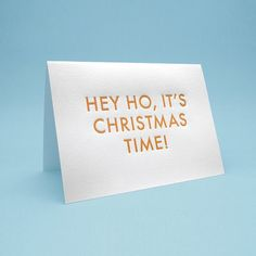 One of many funny Christmas cards by Sign Fail, signfail.etsy.com