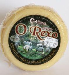 Queso de oveja O Rexo (grande) #queso #galicia #quesodeoveja