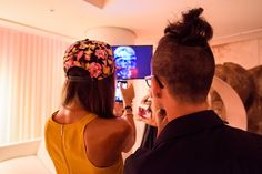 Video creación de Rob Loren expuesto  en Visiónica. EL HOTEL pacha, Ibiza