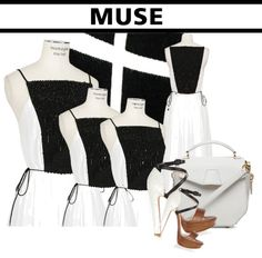 """Inspired By My Muse"" by latoyacl ❤ liked on Polyvore"