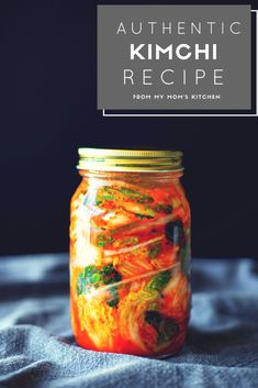 Sharing an authentic and traditional Korean napa cabbage kimchi recipe. This is the most basic and common form of kimchi that is a side for many dishes. Healthy Recipes, Healthy Cooking, Asian Recipes, Vegetarian Recipes, Chinese Recipes, Thai Recipes, Healthy Food, Fermentation Recipes, Canning Recipes