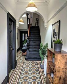 Dream Home Design, My Dream Home, Home Interior Design, House Design, 1930s House Interior, Victorian House Interiors, Dream House Interior, Interior Doors, Hallway Designs