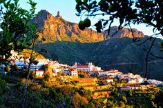Evening light on Tejeda, Gran Canaria