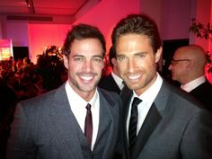 William Levy & Sebastian Rulli. Oh my gosh! Too much hotness in one picture!!! swoon