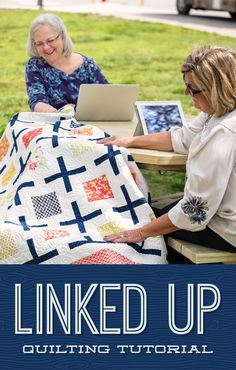 Check out this adorable Linked Up Quilt!