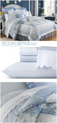 Laura Ashley Sophia Bedding #BeddingStyle #LauraAshley #bedroom