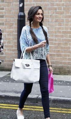 Michelle Keegan- another cute spring/summer look