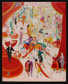 Spring Sale at Bendel's, 1921, by Florine Stettheimer