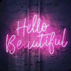 Pink Neon Wallpaper, Aesthetic Pastel Wallpaper, Aesthetic Wallpapers, Motivacional Quotes, Neon Quotes, Pink Neon Sign, Neon Bleu, Neon Rose, Neon Licht