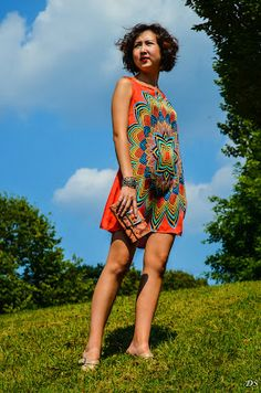 Dame DeStyle: Psychedelic Fall Dress