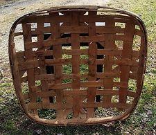 Antique Early Oxford North Carolina Tobacco Whse. Basket Owens Whse Tobacco Sticks, Tobacco Basket, Vintage Baskets, Primitives, Country Living, Pipes, Barns, North Carolina, Pot Holders