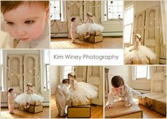 ivory tulle and flower dress