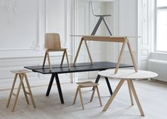 Chairs and Tables | Ronan and Erwan Bouroullec for HAY  | University of Copenhagen