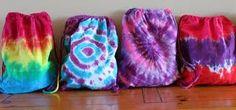 Image result for tie dye draw string bag tumblr Tie Dye Crafts, Diy And Crafts, Diy Tie Dye Backpack, Tie Dye Backpacks, Airplane Carry On, Tie Dye Bags, Reverse Tie Dye, Shibori Tie Dye, Tie Dye Outfits