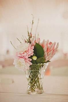 As cliché as it sounds, your wedding day is about marrying your best friend & not styling a photo shoot! Protea Wedding, Floral Wedding, Wedding Bouquets, Rustic Wedding, Wedding Flowers, Wedding Designs, Wedding Styles, Flower Decorations, Wedding Decorations