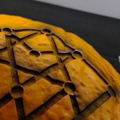 #lasercutting a pumpkin at #thecompoundgallery by erocksfotos
