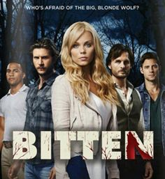 Bitten by Kelley Armstrong I loved this book and just found out today that it is now tv show on syfy starting tonight! WHAT?!?!