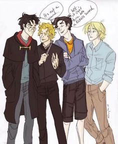 CROSSOVERS!!! I think percy and jace can be best friends or kill each other after 5 minutes together