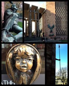 Coventry Cathedral, UK  by Sir Basil Spence