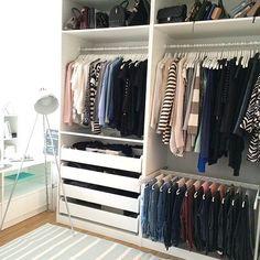 inspiration und verschiedene kombinationen fr das perfekte ankleidezimmer a la pinterest - Der Ankleideraum Perfekte Organisation Jedes Haus