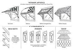 pictures of window awnings - Bing Images