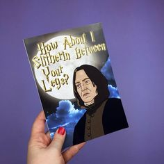 #SexySnape  greetings cards available from http://ift.tt/1ihQVKN with FREE uk shipping!