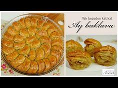 easiest Baklava recipe for beginners/desserts with syrup / Figen Ararat Baklava Recipe, Recipes For Beginners, Apple Pie, Desserts, Food, Youtube, Prepping, Tailgate Desserts, Deserts