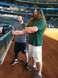 Luke Scott's LITTLE Brother is a Mountain of a Man and Possibly the Sasquatch