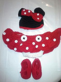 Free Crochet Pattern For Baby Minnie Mouse Outfit : 1000+ images about Crochet :) on Pinterest Crochet baby ...