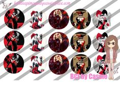 "1"" Bottle Caps (4X6) F634 harley quinn celebrities bottle cap images #celebrities #bottlecap #BCI #shrinkydinkimages #bowcenters #hairbows #bowmaking #ironon #printables #printyourself #digitaltransfer #doityourself #transfer #ribbongraphics #ribbon #shirtprint #tshirt #digitalart #diy #digital #graphicdesign please purchase via link http://craftinheavenboutique.com/index.php?main_page=index&cPath=323_533_42_60"