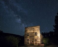 Garnet, Montana. An American ghost town abandoned in the 1930's