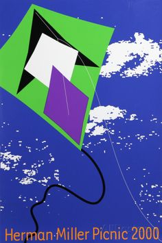Herman Miller Summer Picnic (2000) - Kite Collectable Print