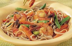 Japanese Shrimp and Soba Noodles Recipe
