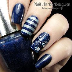Nail Art By Belegwen: OPI DS Fantasy, MUS Siw and Sally Hansen Crochet