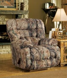 A camo recliner is the perfect accent to his man cave. Shop now for free shipping.