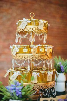 Honey Wedding Favors Vancouver 3 Jar Sampler by LuluIslandHoney
