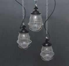 vintage industrial lighting black factory light by www icotraders