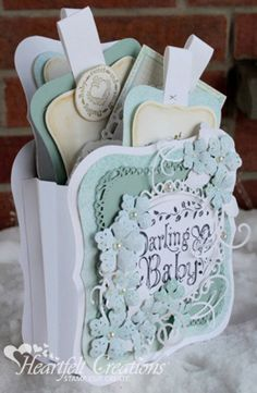 Heartfelt Creations | Darling Baby Gift Set