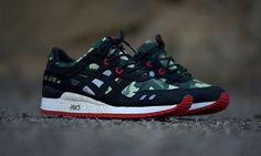 "A Closer Look at the BAIT x ASICS Gel Lyte III ""BASICS Model-001 Vanquish"""