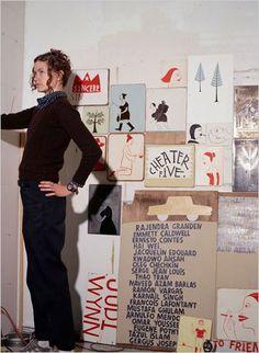 Margaret Kilgallen - San Francisco