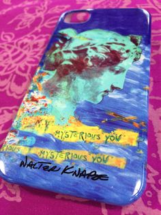 'My Mysterious You' cell phone case