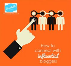 How to connect with influential bloggers