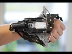 DIY wrist-mounted crossbow gets you one step closer to being a super hero (or villain) #technology #innovation